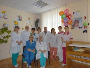 Отделение с палатами реанимации и интенсивной терапии для новорожденных