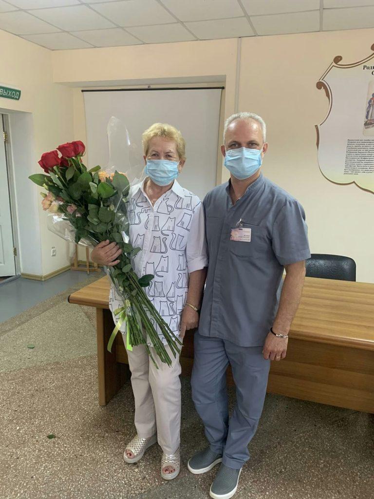 Шутова Людмила Борисовна проработала в нашем роддоме 50 лет!